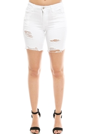 Vervet Distressed Bermuda Shorts - Front cropped