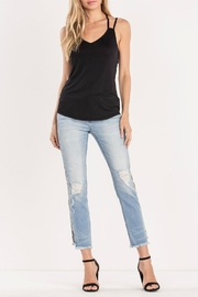 Miss Me Distressed-Camo Ankle-Straight Jean - Other