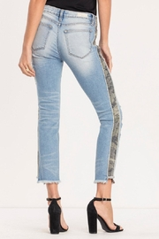 Miss Me Distressed-Camo Ankle-Straight Jean - Side cropped