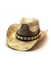 KOVA Distressed Cowboy Hat - Product Mini Image