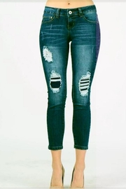American Blue Distressed Crop Jeans - Product Mini Image