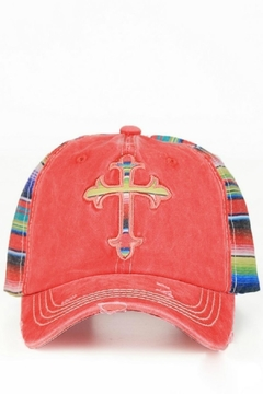 Shoptiques Product: Distressed Cross Hat