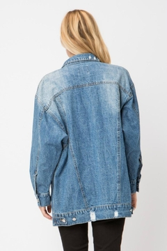 Modern Emporium Distressed Denim Jacket - Alternate List Image