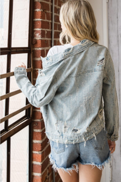 veveret Distressed Denim Jacket - Alternate List Image
