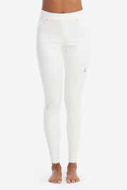Spanx Distressed Denim Leggings - Side cropped