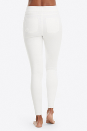 Spanx Distressed Denim Leggings - Back cropped