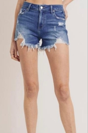 Letters to Juliet Distressed Denim Shorts - Product Mini Image