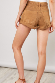 Mustard Seed  Distressed Denim Shorts - Front full body