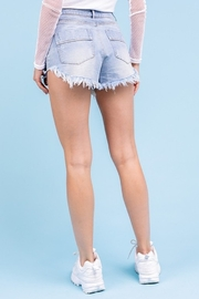 Le Lis Distressed Denim Shorts - Other
