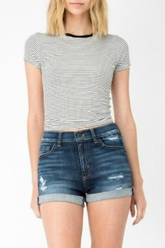 Shoptiques Product: Distressed Denim Shorts