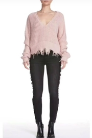 Elan Distressed Edge Sweater - Product Mini Image