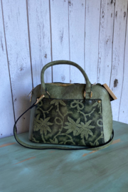 Mellow World Distressed Faux Leather Satchel - Product Mini Image