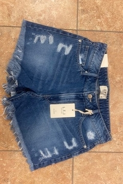 Letters to Juliet Distressed Frayed Hem Shorts - Product List Image