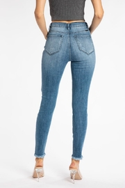 Kan Can DISTRESSED GEMMA HIGH RISE - Back cropped