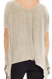 Anama Distressed Handkerchief Tee - Front full body