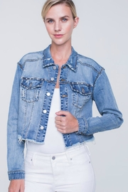 Liverpool Jean Company Distressed Jean Jacket - Product Mini Image