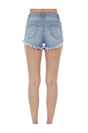 KanCan Distressed Jean Shorts - Front full body