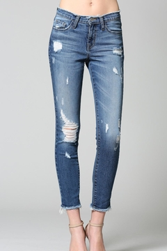 Flying Monkey Distressed Jeans - Product List Image