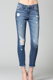 Flying Monkey Distressed Jeans - Product Mini Image