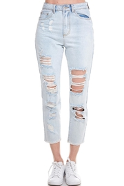 Dance & Marvel Distressed Jeans - Product Mini Image