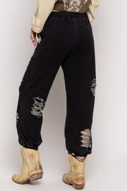 POL Distressed Jogger Pants - Front full body
