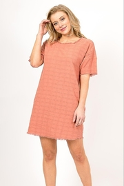 Very J  Distressed Linen Dress - Product Mini Image
