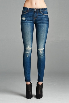 Cult of Individuality Distressed Midrise Jean - Product List Image