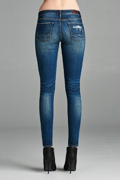 Cult of Individuality Distressed Midrise Jean - Alternate List Image
