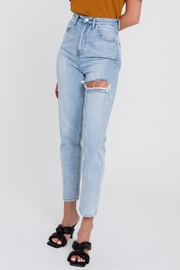 Endless Rose Distressed Mom Jean - Other