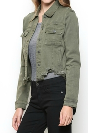 Hidden Jeans DISTRESSED & OUT MILITARY JACKET - Product Mini Image