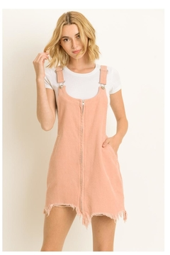 36cbd66a0713 ... Le Lis Distressed Overall Dress - Product List Image