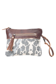 Myra Bags Distressed Pouch - Product Mini Image