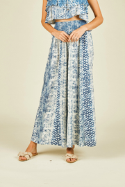 Vintage Havana Distressed print wide leg pant - Product Mini Image