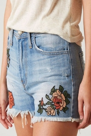 Flying Monkey Distressed Rose Embroidered - Side cropped