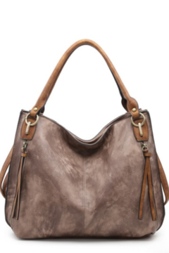 Shoptiques Product: Distressed Side Pocket Tote