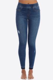 Spanx Distressed Skinny Jeans - Product Mini Image