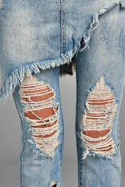 Racine Distressed Skirted Jeans - Other