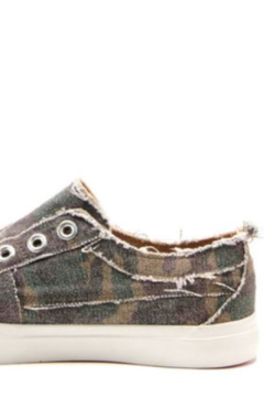 Shoptiques Product: Distressed Slip-On Sneaker