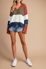 ee:some Distressed Stripe Colorblock - Product Mini Image