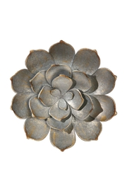 Walker's Distressed Succulent Wall-Art - Front cropped