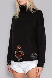 skylar madison Distressed Sweater - Product Mini Image