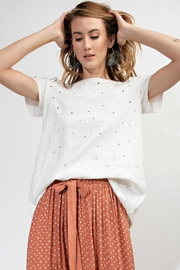 easel Distressed Tee - Front cropped