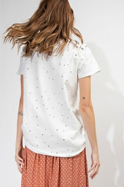 easel Distressed Tee - Side cropped