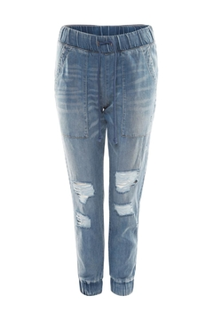 Dex Distressed Tencel Jogger - Product List Image