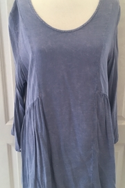 Nature Art Distressed Tunic - Front cropped