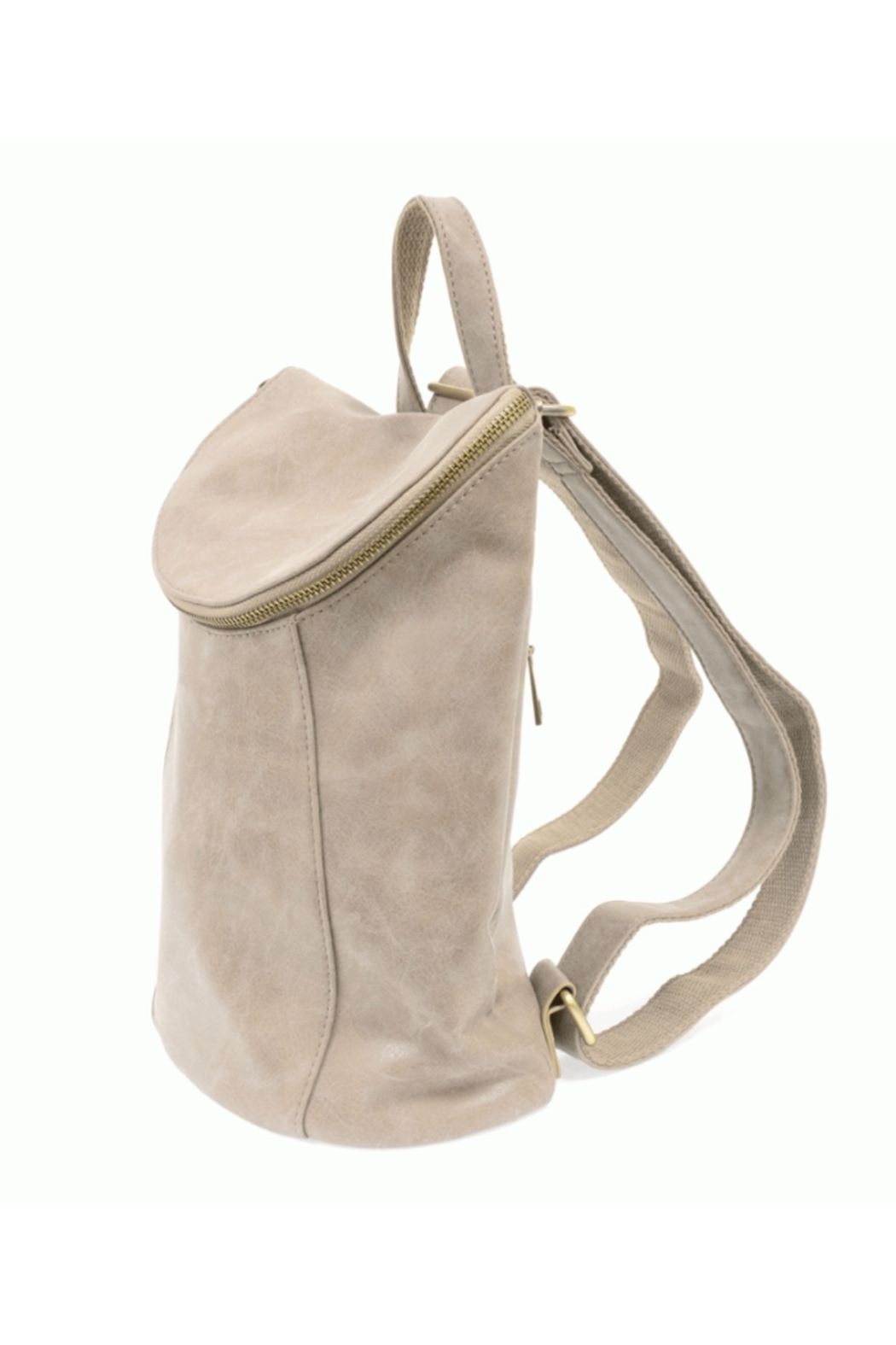 Joy Accessories Distressed Vegan Backpack - Front Full Image