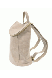 Joy Accessories Distressed Vegan Backpack - Front full body