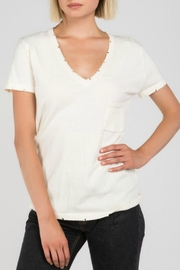 POL Distressed Vneck Tee - Product Mini Image