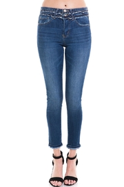 Vervet Distressed Waist Denim - Product Mini Image
