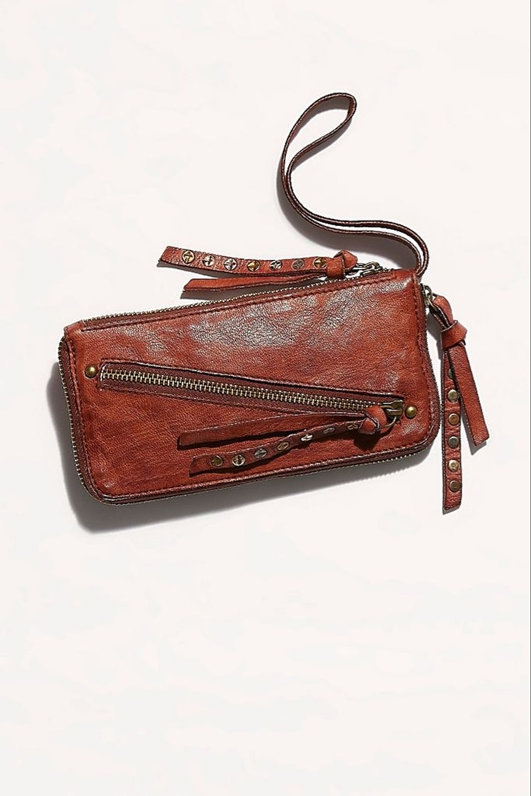 Free People Distressed Wallet - Front Full Image